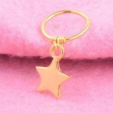 Cute Fashion Star Cartilage Helix Earring Nose Ring Body Piercing Women Jewelry