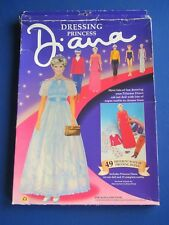 DRESSING PRINCESS DIANA  - Paper Doll set   1994  Peter Pan Toys UK  - Unused