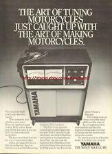 Yamaha Tuning Motorcycle 1981 Magazine Advert #3691
