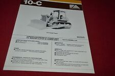 Fiat Allis 10-C Dozer Crawler Tractor Dealer's Brochure DCPA6 Ver3