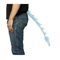 """23.5"""" Dragon Halloween Costume TAIL Ice Blue White Adult Child Teen Game Thrones"""