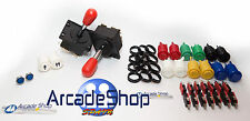 KIT ARCADE  JOYSTICK AMERICANO  RECREATIVAS + INTERFACE USB 2 PLAYER (PC)