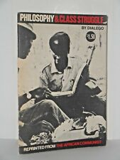 Philosophy and class struggle - The basic principles of Marxism by Dialego  rare
