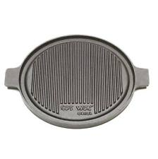 Cast Iron Griddle Pan Hot Wok Griddle Pan Pancake Pan Solid Cast Iron Grill Pan