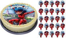 Miraculous Ladybug Eßbar Tortenaufleger NEU Party Deko Geburtstag dvd Serie cat