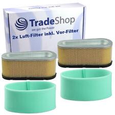 2x Luft-Filter inkl. Vorfilter für Briggs & Stratton 12.5 - 15 PS Motoren
