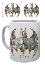 Batman 80th Anniversary Comic Symbol 10oz 300ml Ceramic Coffee Breakfast Mug