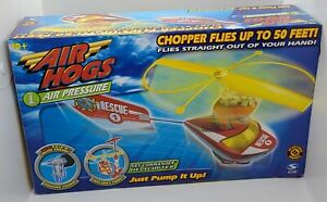2003 Air Hogs Air Pressure Sky Commander Helicopter - New Open Box