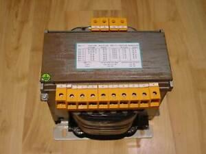 SBA ETKU 167-0140/EN61558-2-2 TRANSFORMER 1600/3300 VA 200-550V