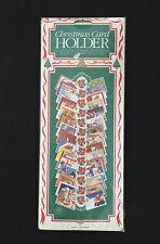 Christmas Card Holder paper Cardboard New Nip Sealed Vintage Made in England