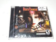 Death Crimson OX - Brand New Sealed (Sega Dreamcast, 2001)