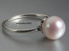 Original Trollbeads * Weißer Perlen Ring * Gr. 51 -60