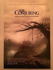 THE CONJURING Movie Poster - HORROR Medium 11x17 Print ~ Warrens Farmiga Wilson
