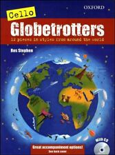 Cello Globetrotters Sheet Music Book with CD Oxford Press SAME DAY DISPATCH