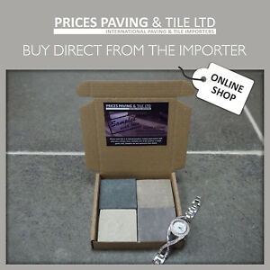 Indian Sandstone Patio Paving Sample Pack    TRY BEFORE YOU BUY