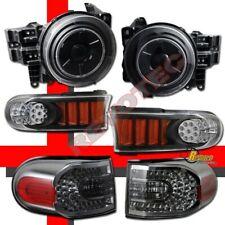 Halo Projector Headlights LED Bumper & Tail Lights For 07-14 Toyota FJ Cruiser