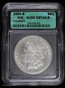 1900 S Morgan Silver Dollar ICG AU 55 Details
