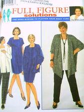 UNCUT Simplicity 7947 Sewing Pattern Size 18W- 24W FF Womens Dress Jacket Pants
