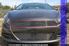 GTG 2013 - 2017 Dodge Dart 1PC Polished Upper Billet Grille Grill