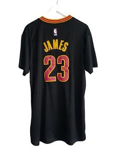 RARE CLEVELAND CAVALIERS #23 LEBRON JAMES ADIDAS NBA SHIRT JERSEY / SIZE XL