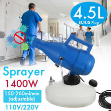 Portable Electric ULV Fogger Sprayer Cold Fogging Machine Disinfection Sprayer