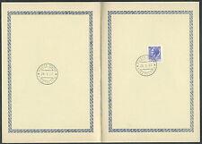 1969 ITALIA SIRACUSANA TURRITA 55 LIRE ANNULLO FDC - ED532