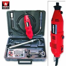 Variable Speed Rotary Tool Kit With Case Flexshaft 40pc Accessories Fits Dremel