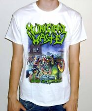 "Municipal Waste ""The Art Of Partying"" White Tshirt"
