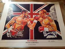 Froch V Groves 2 Contemporary Art print ~ GRATUIT Bellew V habilement Imprimer