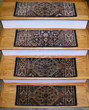 "152938 -Rug Depot Premium Carpet Stair Treads - Set of 13 Treads 26"" x 9""- Multi"