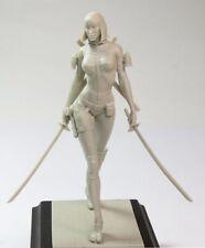 1/24 75mm Resin Figure Model Kit NINJA Lady Fighter Action unpainted unassembled