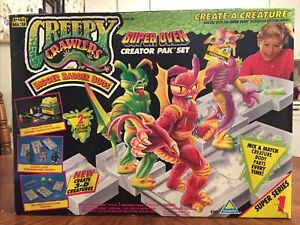 Vintage 1994 Creepy Crawlers Creator Pack Set For Super Oven NEW *READ*