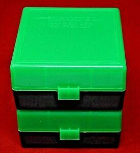 2 x 223 / 556 / 300 Black Out Ammo Box / Case / Storage 100 Rnd Box ZOMBIE COLOR