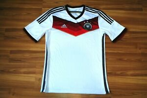 GERMANY NATIONAL TEAM WC 2014/15 HOME FOOTBALL SHIRT JERSEY ADIDAS TRIKOT LARGE