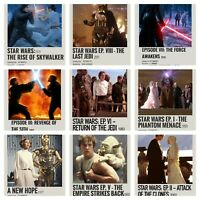 Star Wars Movie 9 Photos Photo cards  Sky Walker Jedi Phantom Menace the force