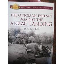 Gallipoli Ottoman Turkey Defence Against Anzac Landing Aust Army Campaign No16
