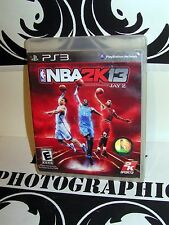 2KSports NBA 2K13 Game for Sony Playstation Jay Z 3 PS3 2013 Tested Used VG / EX