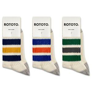 RoToTo Socks - RoToTo Coarse Ribbed Oldschool Socks - R1255 - Various Colours