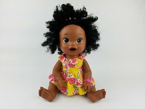 Snackin Sara Baby Alive Doll Original Outfit African American 15 Inch Working