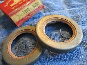 1954 55 56 57 58 59 60 61 62 63 + DODGE & FARGO TRUCKS + Front Wheel Seals+ NOS