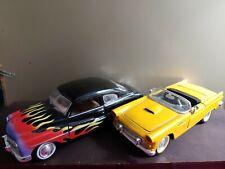 Diecast 1/24 49 Mercury & 56 Thunderbird