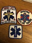 Lot Of 3 EMS Patches Badges Twin City Bedford NY