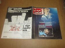 RIVISTA MUSICALE CIAO 2001 N°29-1978 SANTANA GUCCINI BOWIE EAGLES GUCCINI