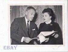 Judy Garland Director Stanley Kramer VINTAGE Ph promo for Judgement At Nuremberg