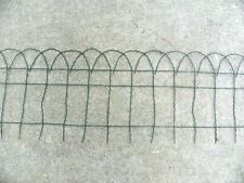 21 Ft. Vintage Metal Wire Arthitectural Garden Fence Edging Border Fencing Arch