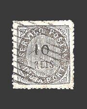 Vintage:India-Portugal 1872 Usd Lh Scott 10 $100 Lot #1872X3