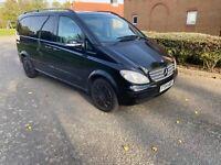 Mercedes Viano Ambiente Diesel Automatic Black