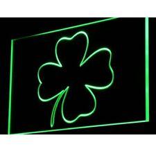 """16""""x12"""" i903-g FOUR LEAF CLOVER Home Decor Neon Sign"""