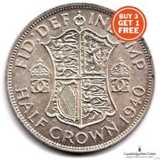 1937 1946 GEORGE VI BRITISH SILVER HALF CROWNS COINS CHOOSE DATES