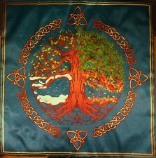 Tablecloth Wiccan Pagan tradition Seasons large